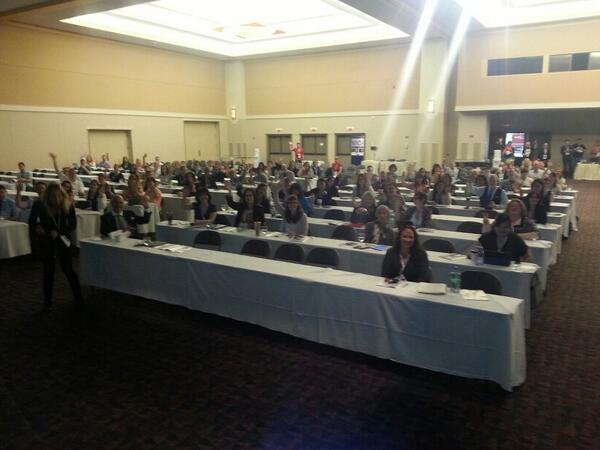 Welcome to #SMCamp left side of room. http://t.co/iOTipe1xZh