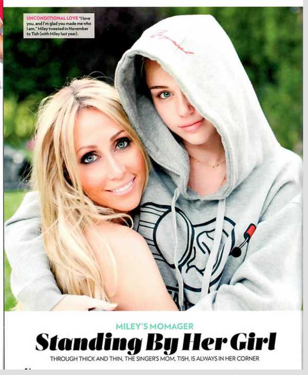 Just saw this from @peoplemag Love it so much!  ALWAYS in her corner is right!  My sweet girl @MileyCyrus http://t.co/NPHvqVobMO