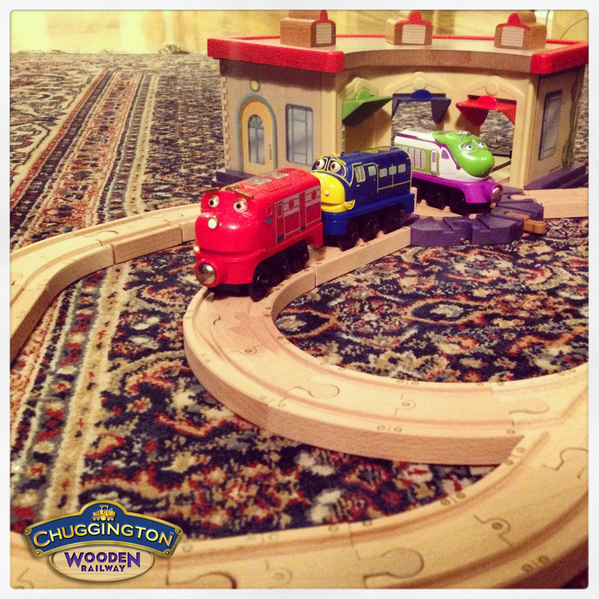 To celebrate #AmtrakNTD, we're giving away a free @Chuggington Wooden Railway set! Follow & RT for a chance 2 #WIN! http://t.co/3gs2uTqvBx