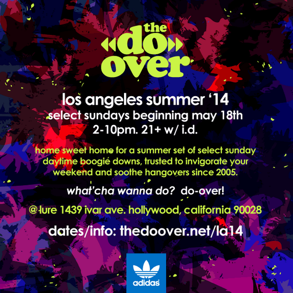 LA: 2014 Select Sundays schedule kicking off May 18th! Presented by @adidasOriginals #DoLA: http://t.co/jfhMVngIe3 http://t.co/ouLBebVwL5