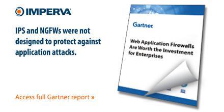 Gartner Confirms: Web Application Firewalls Are Worth the Investment for Enterprises | Report: http://t.co/xXMlvuBhTZ http://t.co/gSjTAbdec3