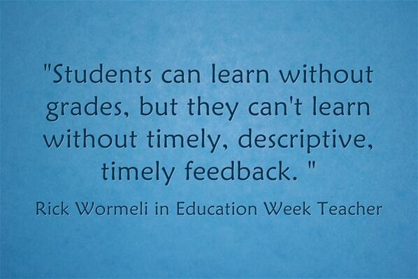 Response:'The Grading System We Need to Have' is my new Ed Week post w/ @RickWormeli & others http://t.co/Fd6ojsqNQh http://t.co/ZmSmN19mza