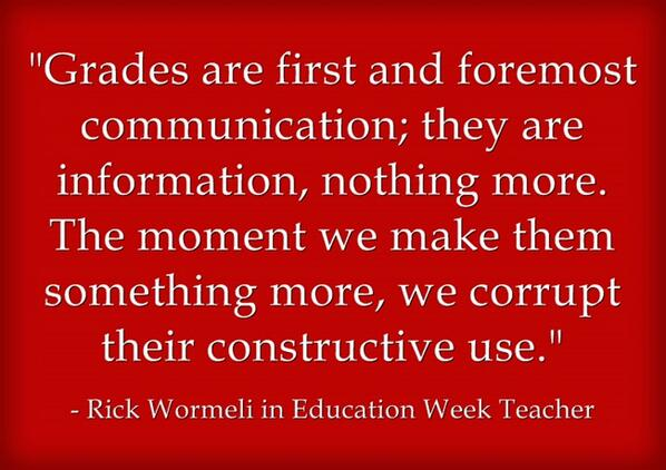 'The Grading System We Need to Have' is my new Ed Wk post w/ @RickWormeli http://t.co/Fd6ojsqNQh http://t.co/bzQ4GqbZqN