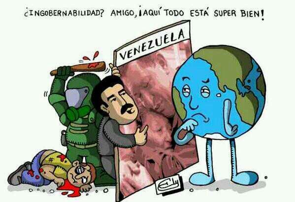 """""""@Mari8ad: Con un dedo no se tapa el sol.. #12MGuarimbasura http://t.co/Xhwx7alY8q""""/ así es #Venezuela"""