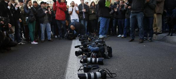 La libertad d prensa en España alcanza su nivel + bajo durante la democracia http://t.co/1sly8hcZOK #libertaddeprensa http://t.co/RAwx13bhTB