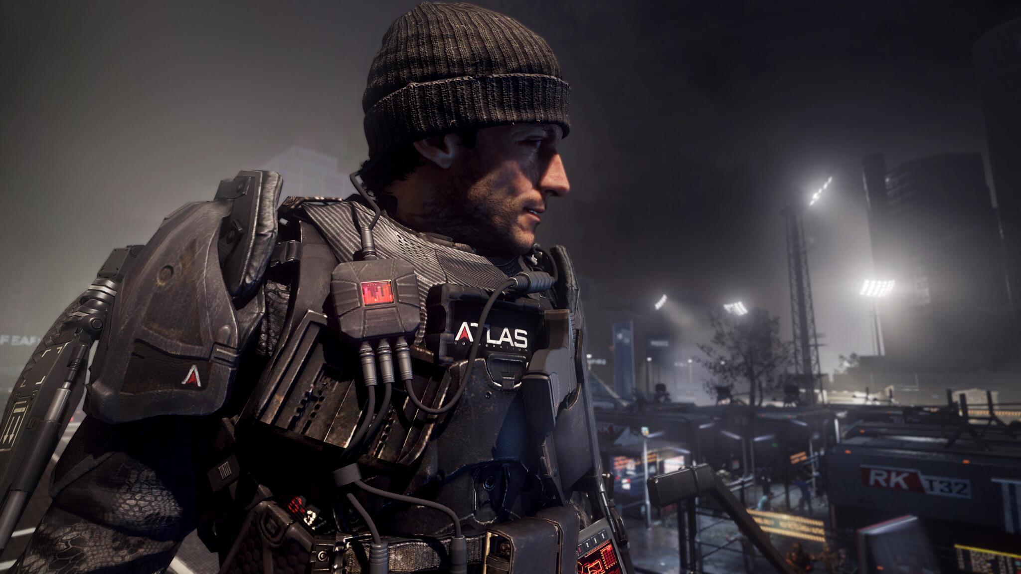Un militaire avec une armure de ouf... et un bonnet sur la tête (>_<?) #COD http://t.co/xAN0M7r8YQ