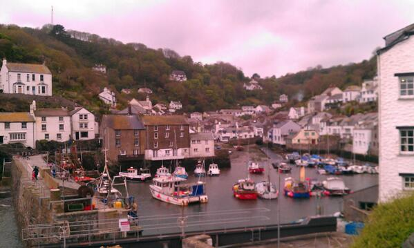 Beautiful Polperro. Excellent wedding setting. Well played Cornwall, well played. http://t.co/GgEzxrtxlJ