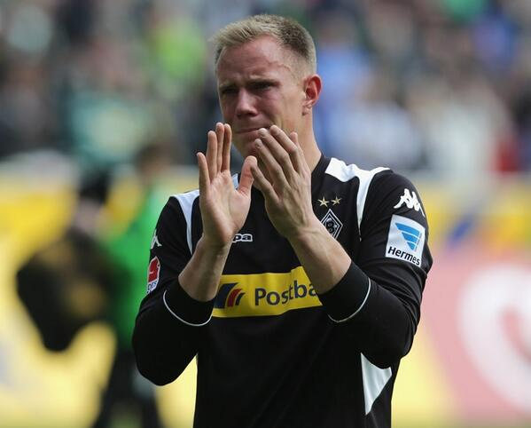 Bmu9iXeIcAEo6Dq Next Barcelona keeper Marc Andre ter Stegen cried during goodbye at Gladbach [Pictures & video]