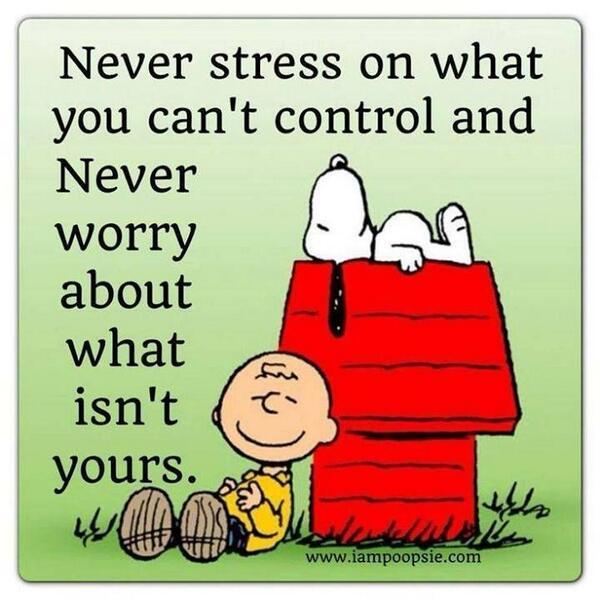 Snoopy Stress