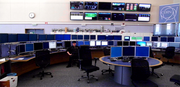 That's what I call SCADA: CERN Control Center for the LHC. http://t.co/26nXsebOE7