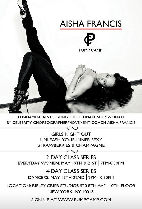 NY!!!! ARE YOU READY FOR PUMP CAMP???  Sign up now at http://t.co/gXC38xEoI1 Space is limited http://t.co/rTTB3Z8HXO