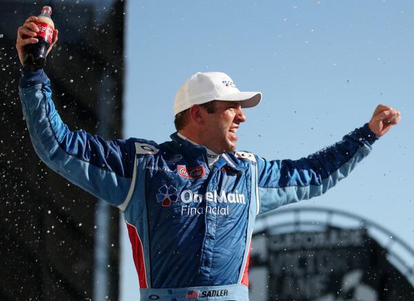 Retweet to congratulate @Elliott_Sadler on his #Aarons312 win! #NASCAR http://t.co/k9rTbaTnEr