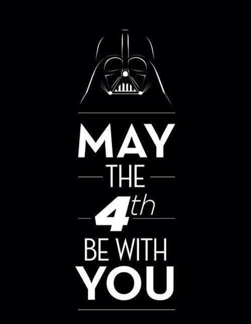 Star Wars day!!! May the 4th be with you... #StarWarsDay http://t.co/i6hc0mZQTM