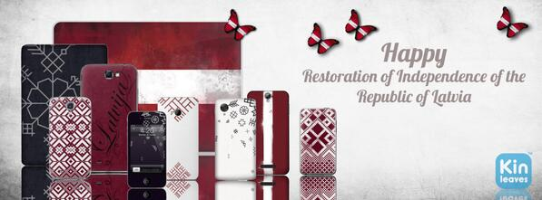 Let`s celebrate Latvia`s Restoration of Independence day together with @KINLEAVES http://t.co/yOcB9GAKrS