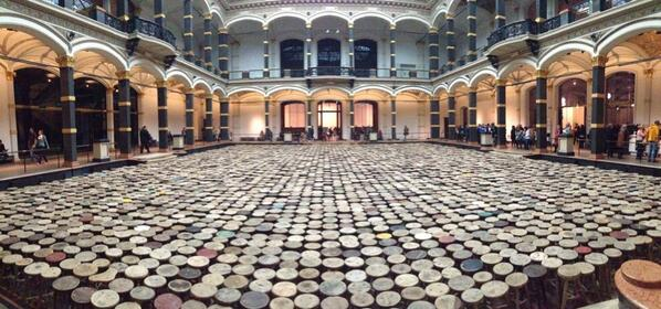 live from the ai weiwei exhibition at martin gropius bau @aiww http://t.co/yBvzcrqtEd