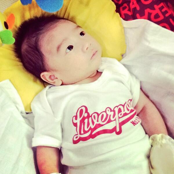 Little Thai fan @liverpool_in_th @ThaiLFC @LiverpoolFC  @ninanaka  #Matter2MeThai http://t.co/39KbGa75Bv
