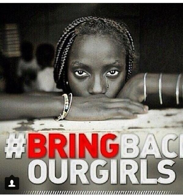 #BringBackOurDaughters #BringBackOurGirlsAlive #BringOurGirlsBack . These Nigerian girls are still in our prayers❤️ http://t.co/kB5E5ocZfD