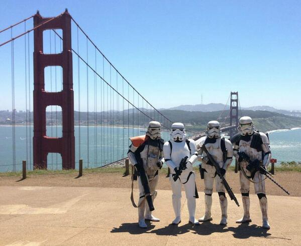 Oh, is it May the 4th? Well then #maythe4thbewithyou #marin #starwars http://t.co/GGZgYDwEP2