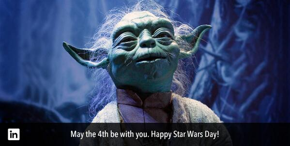 Accomplish anything, you can. #Maythe4thbewithyou http://t.co/lahOdv8ipl