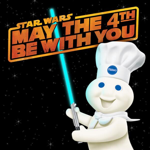 May the 4th be with you! http://t.co/L4e9msWAdf