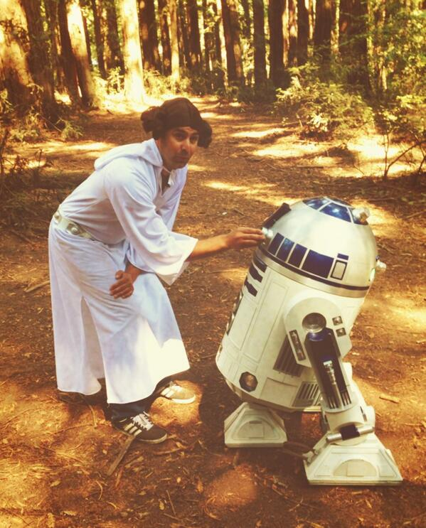 #MayThe4thBeWithYou http://t.co/0arXdOtzUK