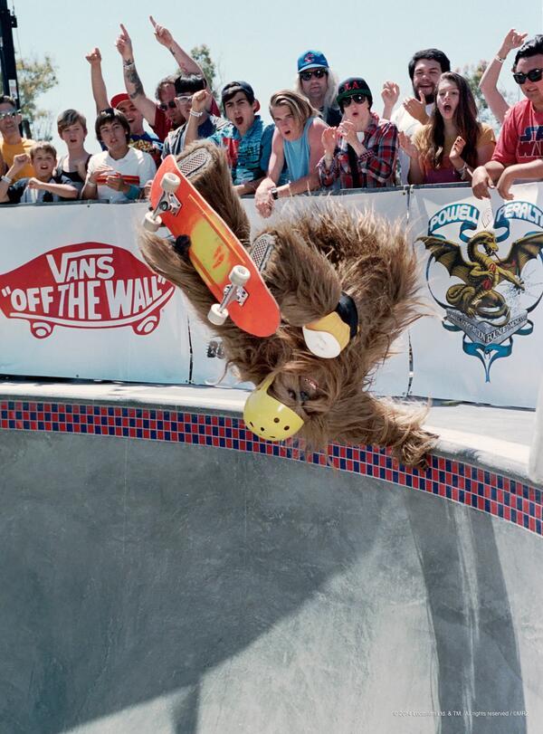 A Wookie's gotta skate. http://t.co/LJcg0qs2bV #vansxstarwars #maythe4thbewithyou http://t.co/DmEvahIgkG