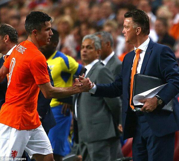 "LVG: ""He became all-time top scorer of the Dutch team and he plays superb football."" http://t.co/IwBUFDrDes"