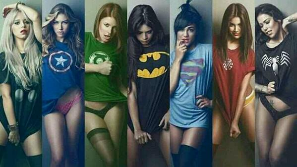 pick your superheroes, now! #tshirt http://t.co/GfZy6H9cVv