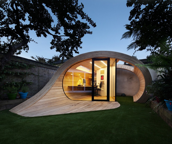 Is It a Shed? An Office? Neither — It's a 'Shoffice'!  See the full Ideabook here: http://t.co/aBbI4uKLbn http://t.co/5roQbXBLiC