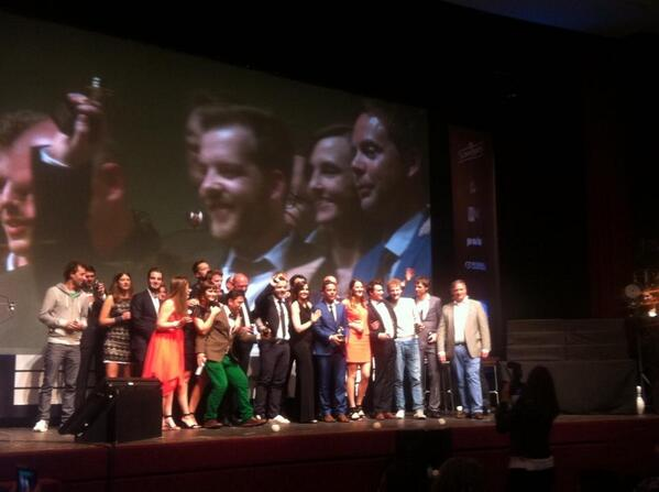 #DuvalGuillaume Creative Agency of the Year for the third time in a row #CCB2014 http://t.co/HnyMAgqDjD http://t.co/P6JR4dNtyT