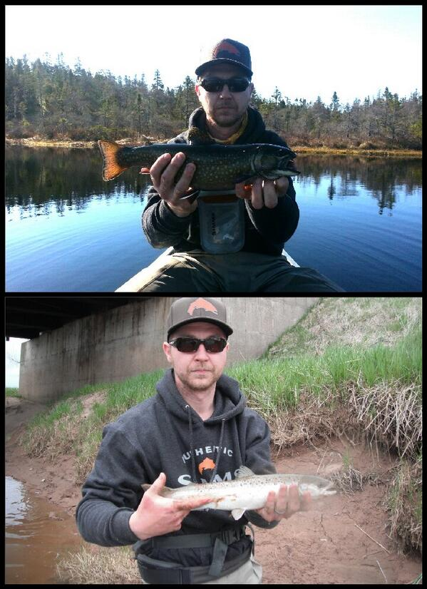 1salmon 1trout and 1lucky guy http://t.co/EkAlbsbSOy