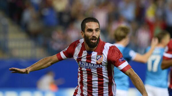 Milli futbolcumuz Arda Turan'ın takımı Atletico Madrid, La Liga'da 18 sene sonra şampiyon oldu. Tebrikler #ArdaTuran http://t.co/eOSffz0sSi