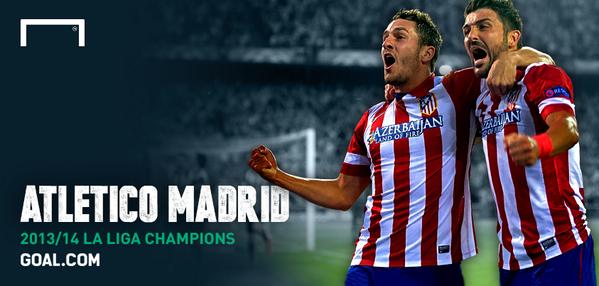 Congratulations @Atleti #LaLiga champions 2013/14 http://t.co/IzPlfZwXKh #SilverSaturday http://t.co/AKxZm6L6ip