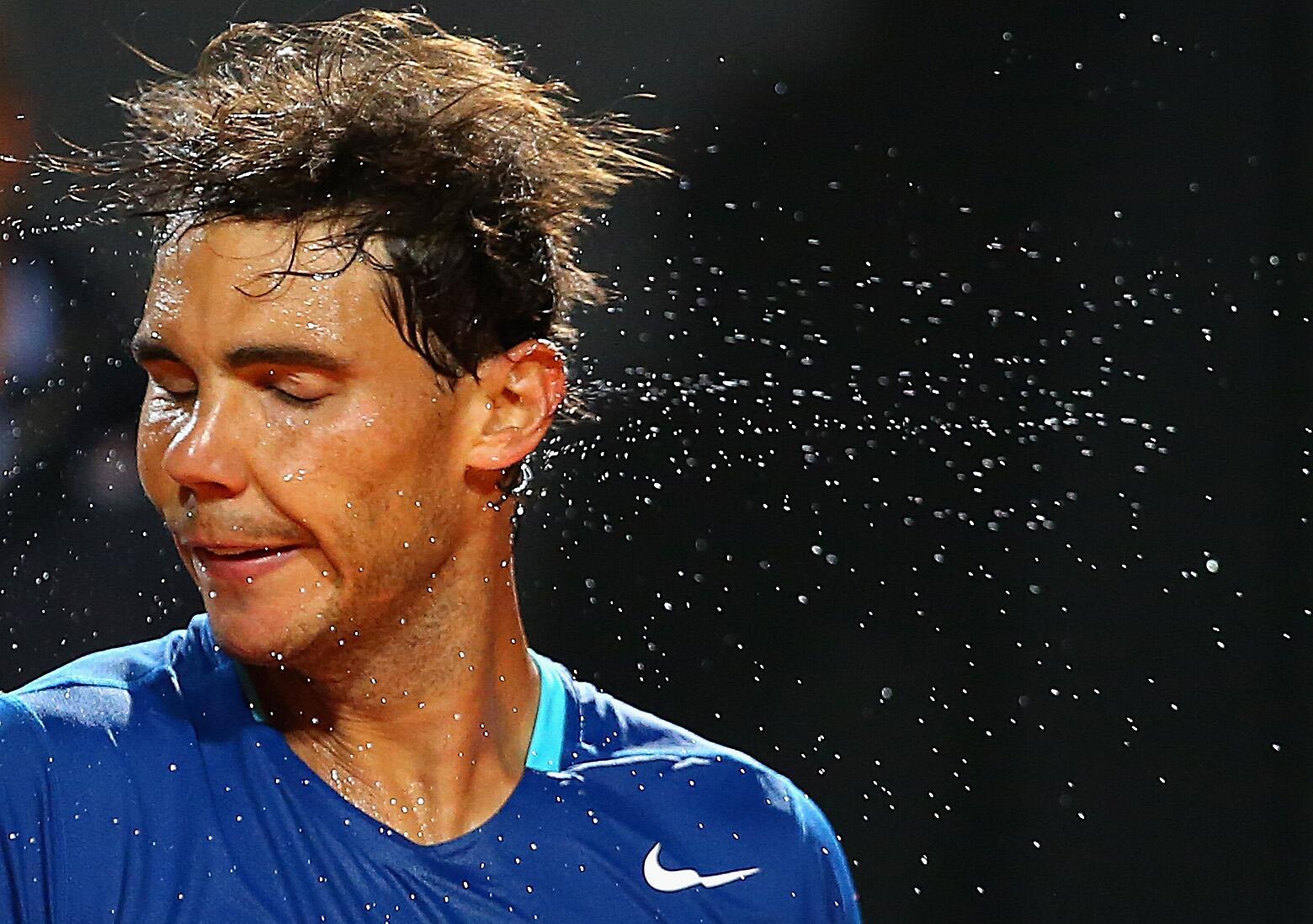 No sweat. RT @christophclarey: One for the Nadal files RT @ByJoeFleming Rafa ... LOL (GETTY) http://t.co/XzXjv5v4BA