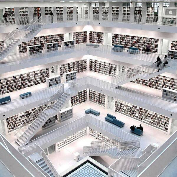 Just a library in Germany! http://t.co/iLaiMwUXbI