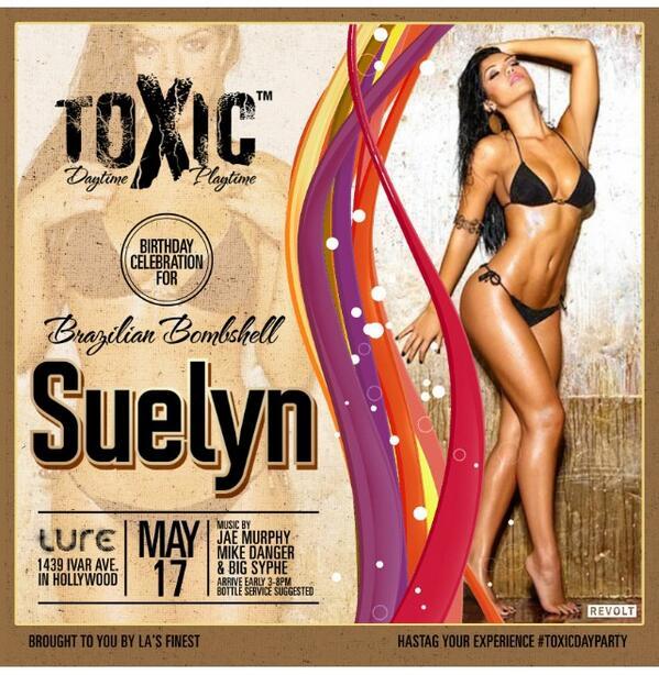 Join me today #My Birthday Celebration May 17 2014 3-8pm @LureHollywood  #ToxicDayParty  @TheJohnnyCruz http://t.co/5BHugkI8hx