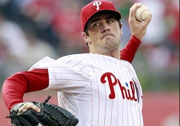 Congrats to @TheHamels co-founder Cole Hamels on his 100th career win tonight! 7 IP, 10 SO & 1 ER in a 12-1 win! http://t.co/v2tLto20HD