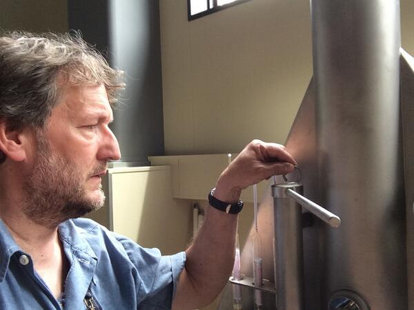 Shuzenji Brewery update: We've brewed five batches on new 60hl system, double brewday tomorrow. This is getting fun! http://t.co/A47G9B8YZe
