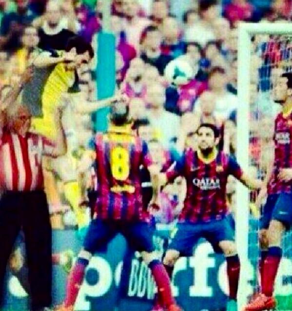 Así fue el gol de Godin, sin palabras #Atleti http://t.co/DvY3iukZcw