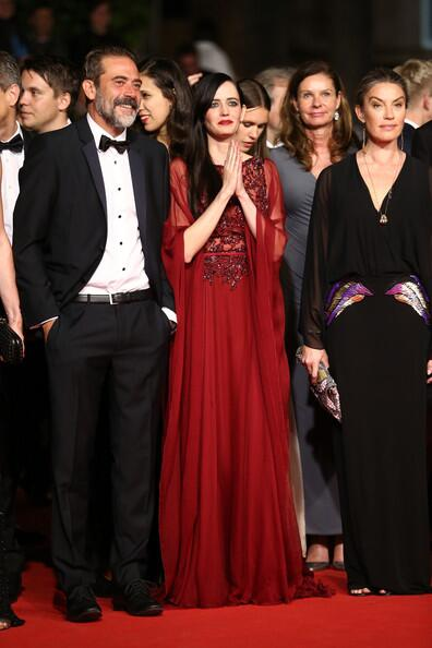 """RT @EvaGreenSource: Jeffrey Dean Morgan and Eva Green attend the """"The Salvation"""" premiere during the 67th Annual Cannes Film Festival http://t.co/UMR0Yiv3T2"""
