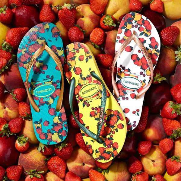 Pack a tropical punch with the pop-art prints of our NEW Slim Fruits sandals: http://t.co/5dvazCVCxL http://t.co/Iakoljj1Mm
