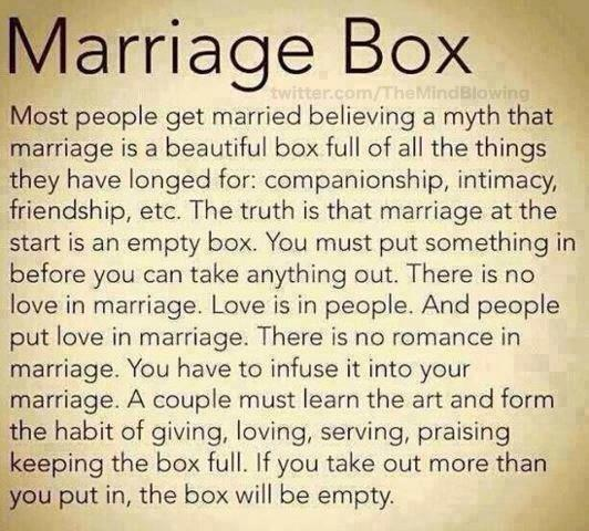 Marriage Box - One of the greatest thing you'll ever read! http://t.co/iBiYl6uWiQ