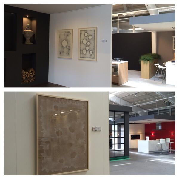 Er hangen 7 werken van mij op de keukenafdeling van Nijhof in Baarn. Een geweldige plek om mijn werk te exposeren! http://t.co/xaDMHLA1EU