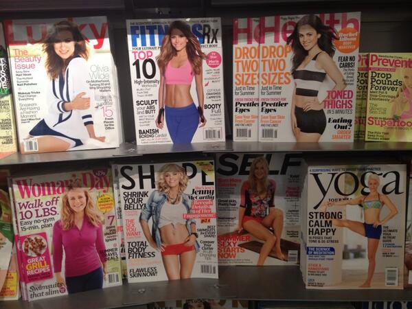 I think women's magazines hate women more than men do. http://t.co/LB3Sg7490c
