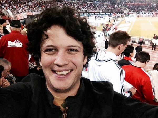 Así ganamos los campeones! Vamos River vamos! @MajoPandullo @adidasAR #allin Or nothing una tarde inolvidable!Gracias http://t.co/XQ8KMyd1jR