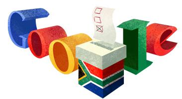 Good election morning South Africa! You've got the GoogleDoodle today.  The world is watching again. #SAElections2014 http://t.co/FkUbxDU3lm