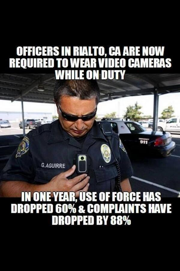Retweet if you think all cops should be required to wear video cameras while in duty! #myLAPD #myNYPD http://t.co/JeXHljpQzl