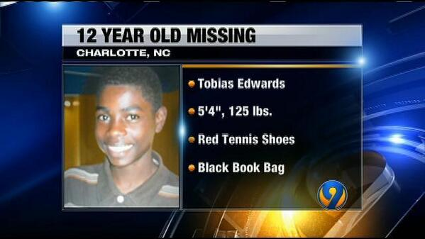 Here is description graphic on missing 12-year-old boy. RT to help police find #TobiasEdwards http://t.co/s5ZzYU3XcR http://t.co/UMWzZTNJMh