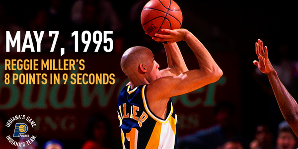 Know what happened 19 years ago today? @ReggieMillerTNT scored 8 points in 9 seconds: http://t.co/S3anccZN5L http://t.co/mbvQ8tuwpr