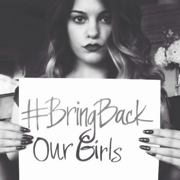 Every girl deserves an education. This is EVERY girls problem. We are NOT for sale. #BringBackOurGirls http://t.co/7gU6ws1A0b